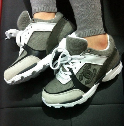 6e9cceb1d250 chaussure chanel grise 1