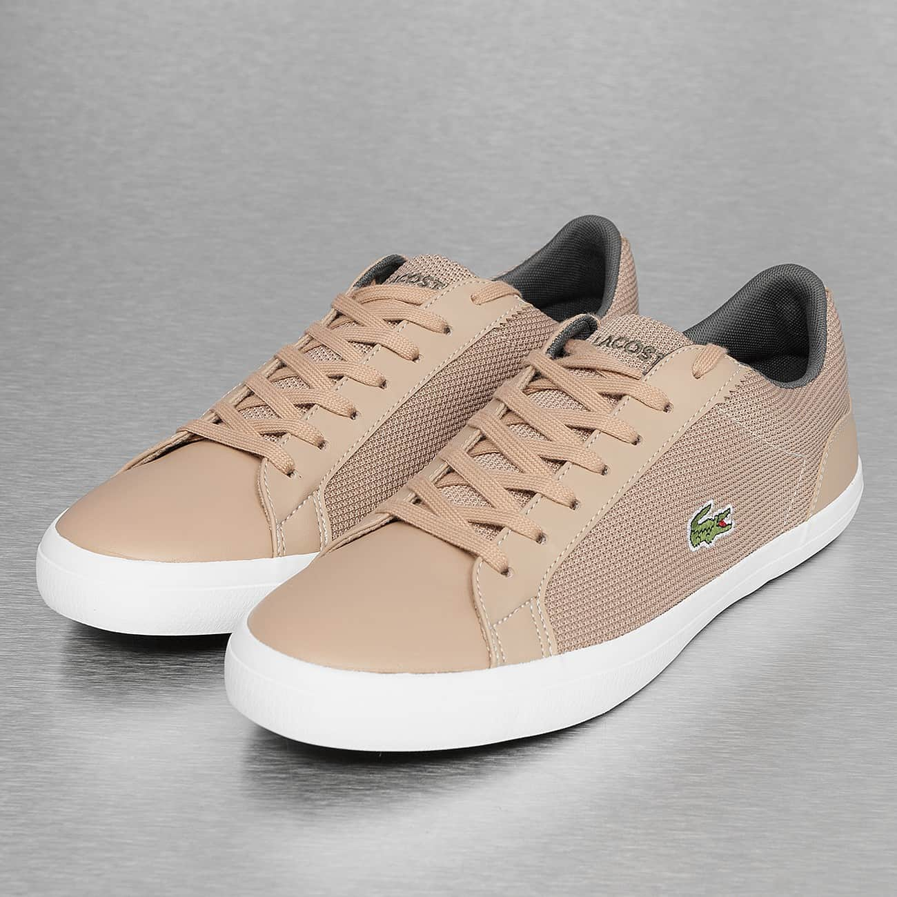 Beige Lacoste Chaussure Homme Chaussure Lacoste CtrBoQhxds