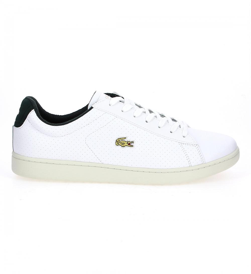 f3e8449ea78a3 chaussure lacoste homme blanche 1
