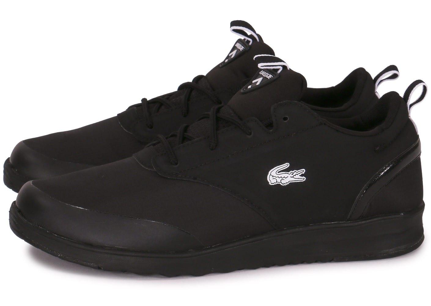 3cf0c4b9c7949 chaussure lacoste homme noir 1