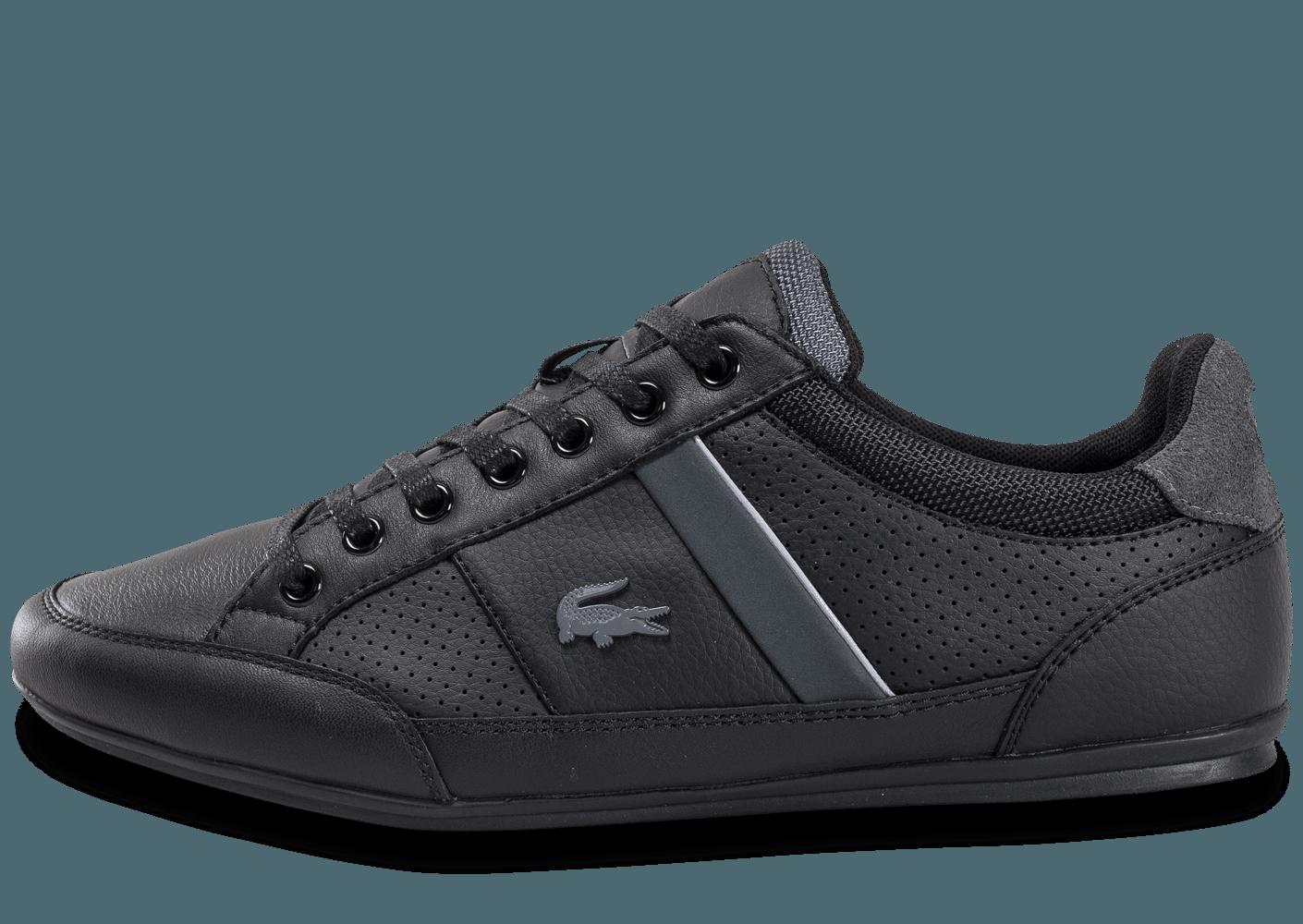 d6ffbf70202 chaussure lacoste noir homme 1