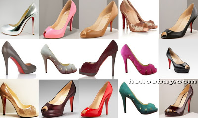 collection chaussure louboutin